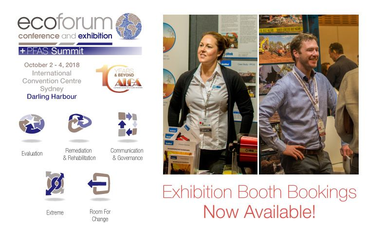 EcoForum Exhibition Booths Now Available